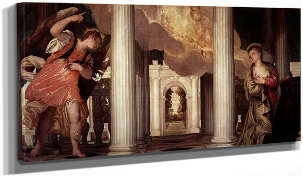 The Annuciation By Paolo Veronese