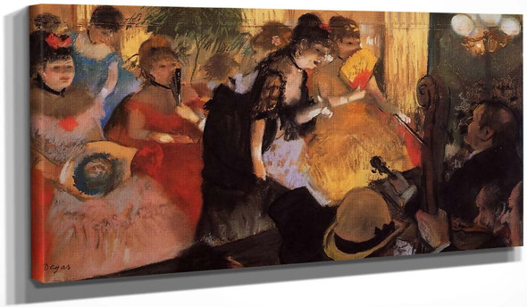 The Cafe Concert By Edgar Degas