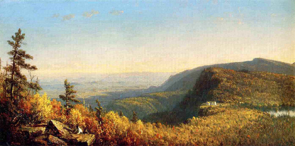 The Catskill Mountain House By Sanford Robinson Gifford