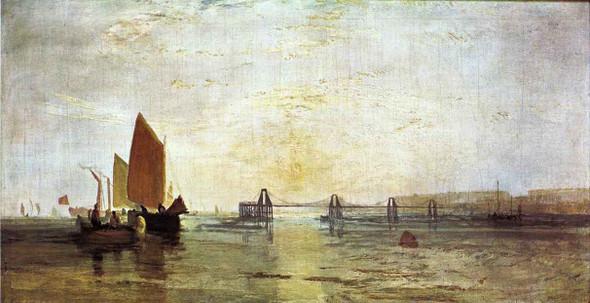 The Chain Pier, Brighton1 By Joseph Mallord William Turner