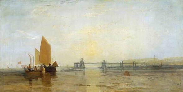 The Chain Pier, Brighton2 By Joseph Mallord William Turner