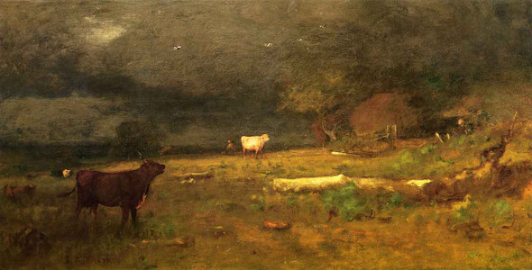The Coming Storm  By George Inness By George Inness