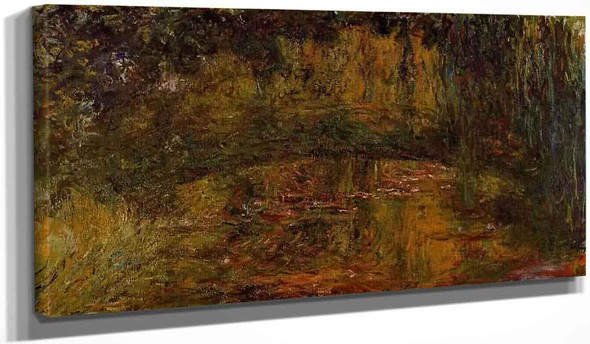 The Japanese Bridge1 By Claude Oscar Monet