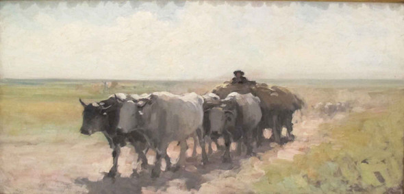 The Ox Cart2 By Nicolae Grigorescu