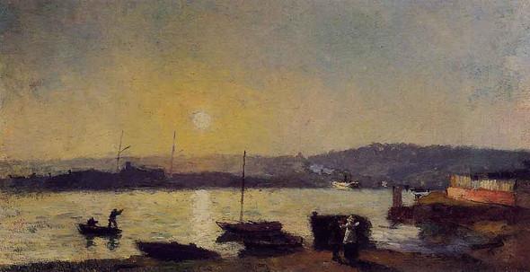 The Seine At Rouen2 By Albert Lebourg By Albert Lebourg