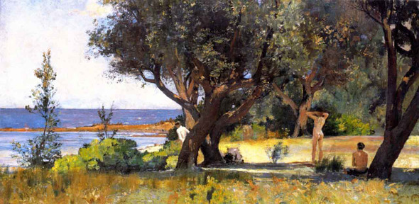 The Sunny South By Tom Roberts