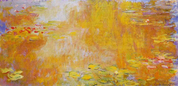 The Water Lily Pond11 By Claude Oscar Monet