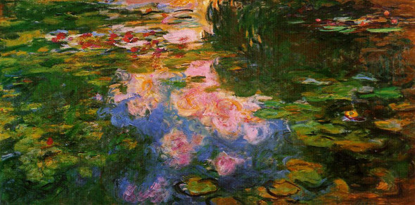 The Water Lily Pond4 By Claude Oscar Monet