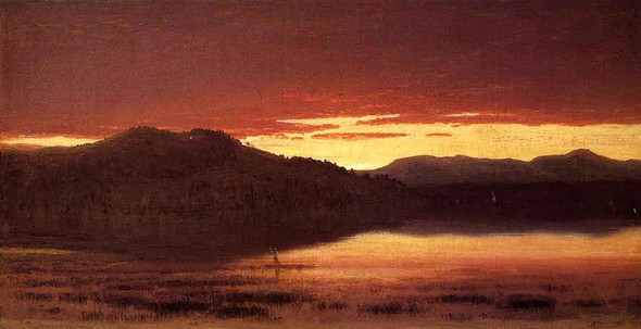 Twilight 2 By Sanford Robinson Gifford
