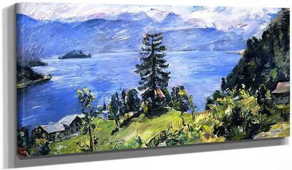 Walchensee Panorama By Lovis Corinth By Lovis Corinth