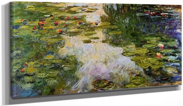 Water Lilies10 By Claude Oscar Monet