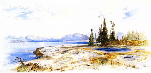Yellowstone Lake By Thomas Moran