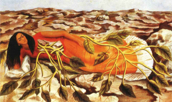 Roots by Frida Kahlo