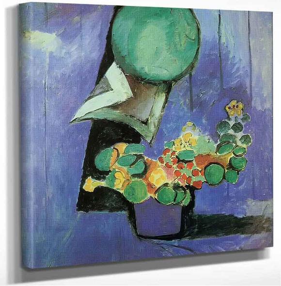 Flowers And Ceramic Plate Henri Matisse