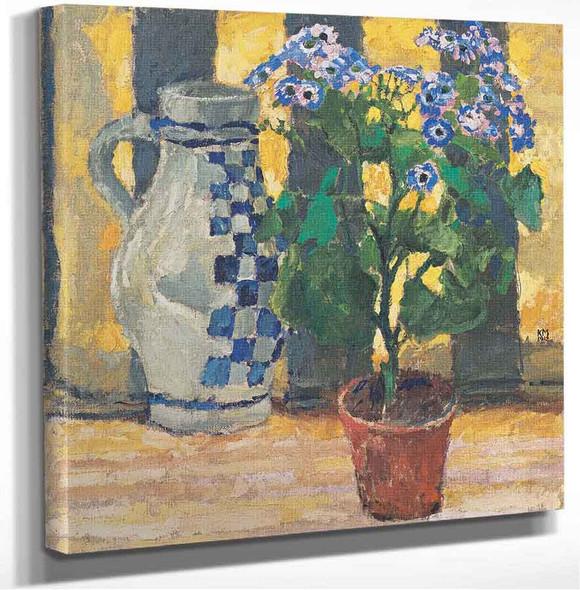Flowers And Jug Koloman Moser