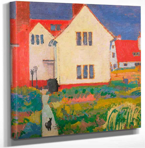 Harold Gilmans House At Letchworth Spencer Gore