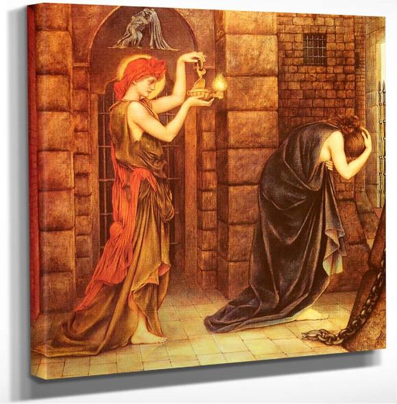 Hope In The Prison Of Despair Evelyn De Morgan