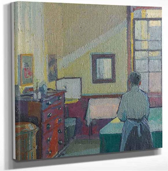 Interior (Also Known As Mrs Mounter) Harold Gilman