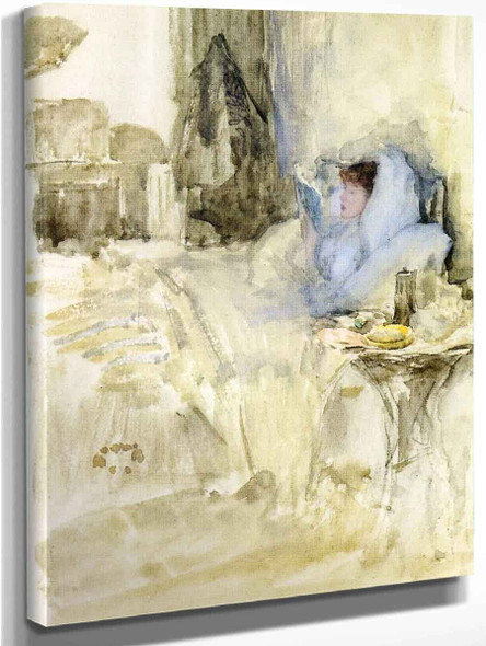 Convalescent By James Abbott Mcneill Whistler American 1834 1903