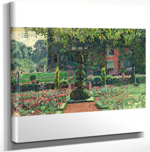 Jardin En éT㩠Theo Van Rysselberghe