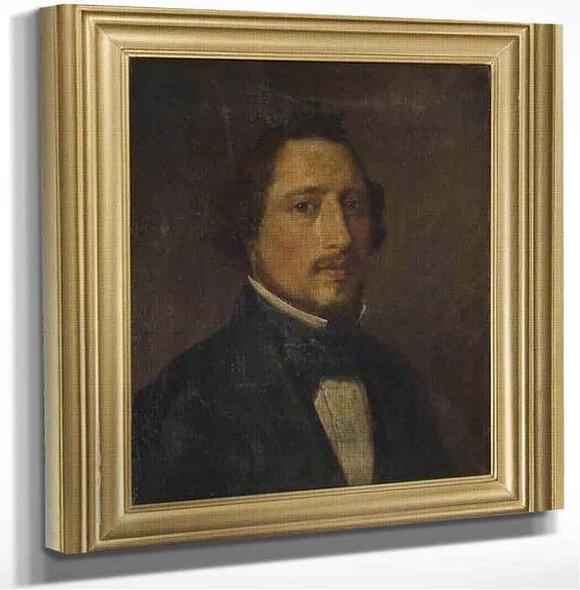 Portrait Of Dirk Tadema Sir Lawrence Alma Tadema