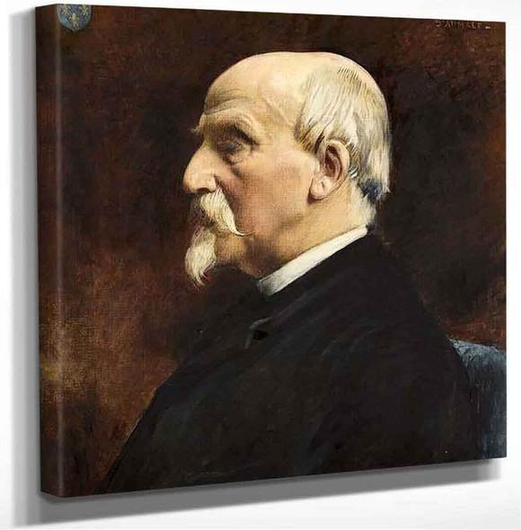 Portrait Of Henri Eugene Philippe Emmanuel D'orleans 1 Leon Joseph Florentin Bonnat