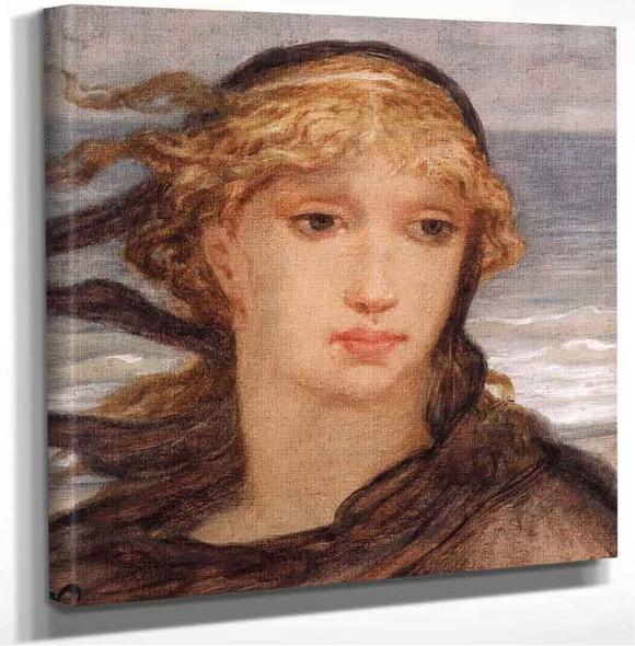 Roman Woman Elihu Vedder