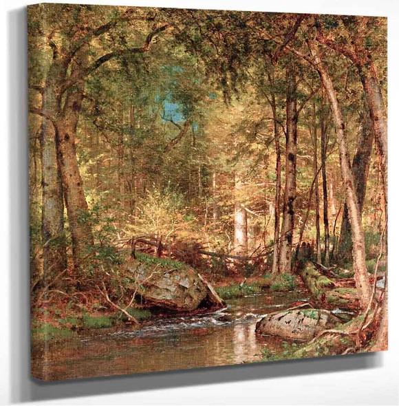 Sunlight In The Forest Thomas Worthington Whittredge