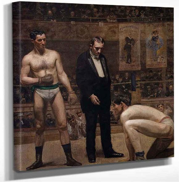 Taking The Count Thomas Eakins
