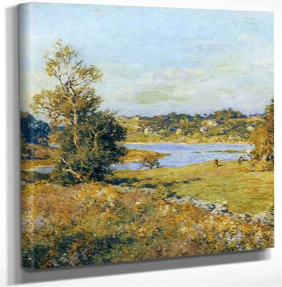 The Breath Of Autumn (Waterford Connecticut) Willard Leroy Metcalf