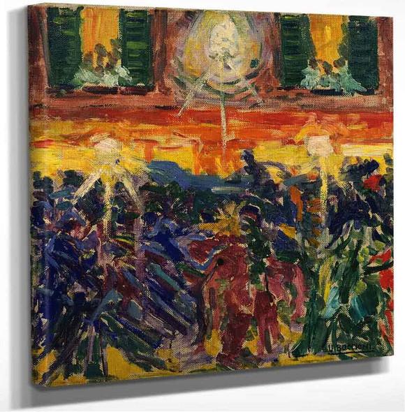 The Riot Umberto Boccioni