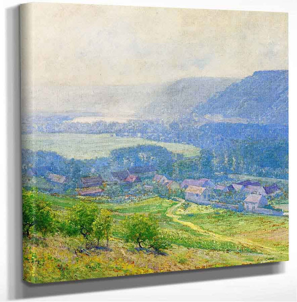 The Saine Valley Giverny Guy Orlando Rose
