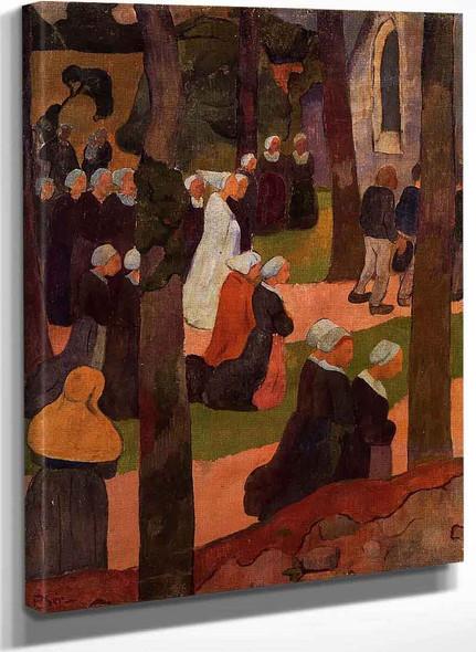 A Breton Sunday By Paul Serusier