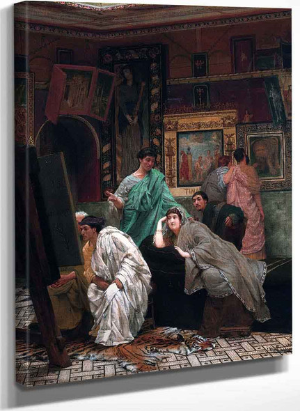 A Collection Of Pictures At The Time Of Augustus (Also Known As Charles Jaques Alexander Cesar) By Sir Lawrence Alma Tadema