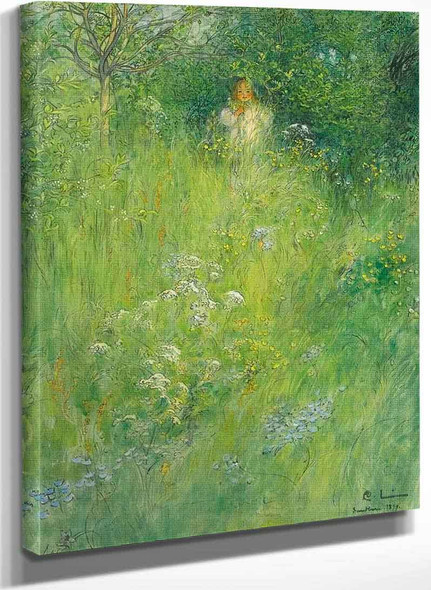 A Fairy (Also Known As Kersti In The Meadow) By Carl Larssonv