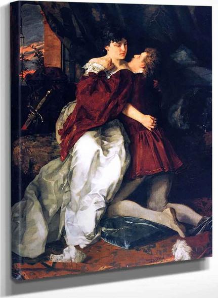 Adelheid Und Franz (Also Known As Romeo And Juliette) By Wilhelm Trubner