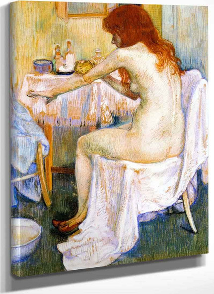 After The Bath By Theo Van Rysselberghe