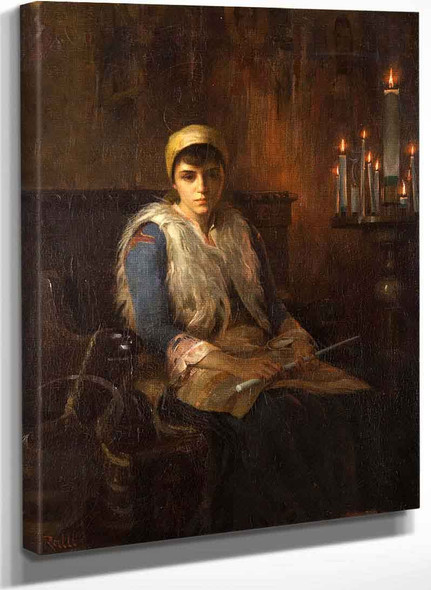 An Offertory Candle By Theodoros Ralli