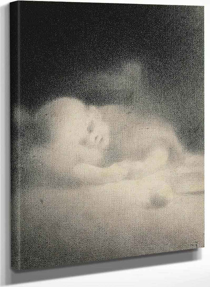 Baby Sleeping By Charles Angrand