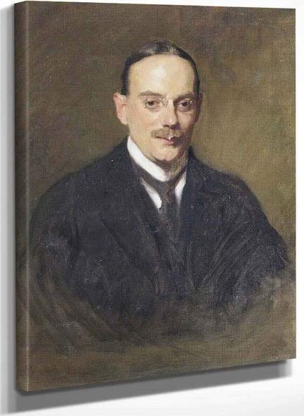 Bertram Louis Abrahams (1870–1908) By Solomon Joseph Solomon