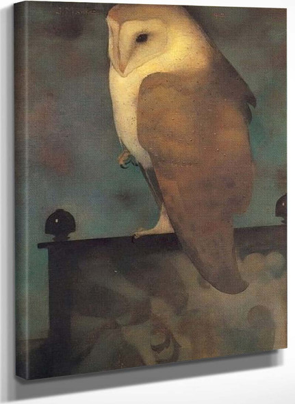 Big Owl By Jan Mankes
