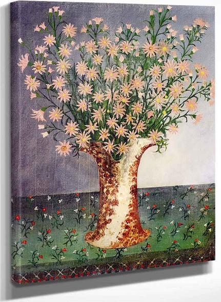 Bouquet Of Flowers By Henri Rousseau