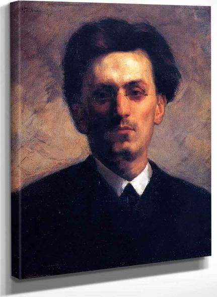 Carl Schuch (1846 1903) By Wilhelm Trubner