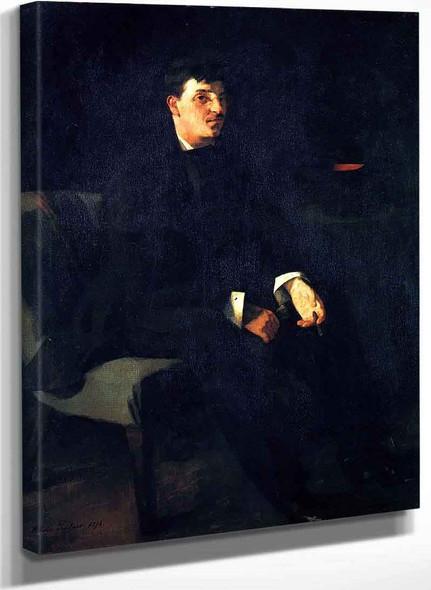 Carl Schuch By Wilhelm Trubner