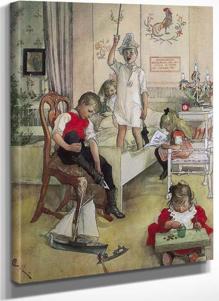 Christmas Morning By Carl Larssonv
