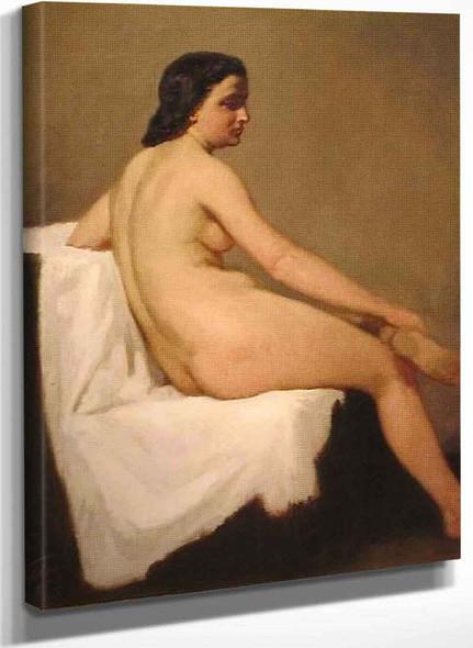Classic Nude By Elihu Vedder