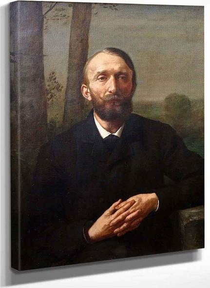 Conrad Fiedler By Hans Thoma