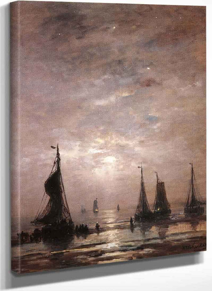 Evening Mood By Hendrik Willem Mesdag