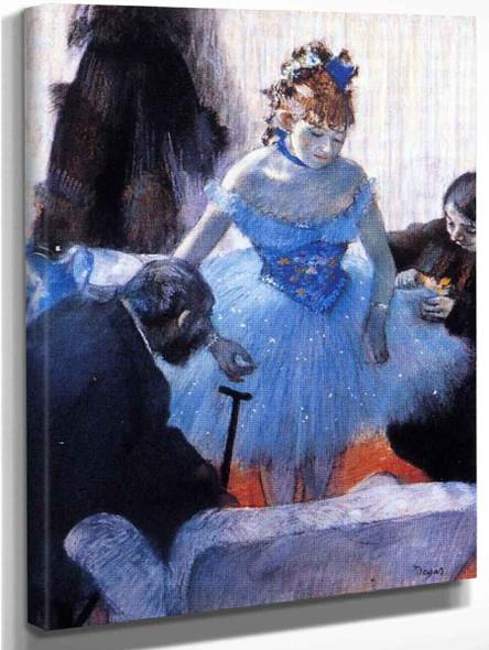 Dancer's Dressing Room By Edgar Degas Art Reproduction