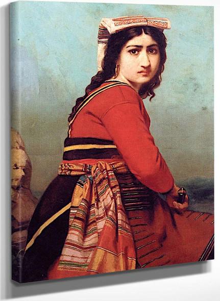 Gypsy Girl By Leon Jean Basile Perrault